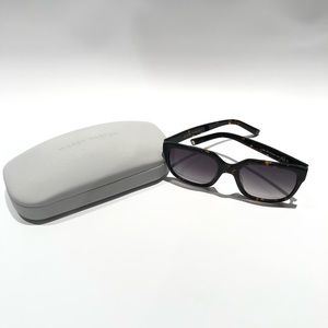 Warby Parker sunglasses with case
